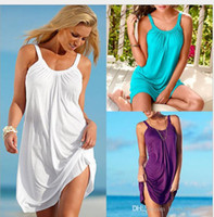 Wholesale Womens Camisole Xl - Run Amount Fund 2016 Suit-dress European Camisole Dress Goods In Stock Other Sources Solid Dresses for Womens