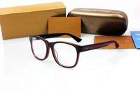 Wholesale Prescription Polarized Lenses - 2017NEW fashion G0040 square frame brand pure-plank prescription glasses pure-plank accustomized polarized sunglasses wholesale freeshipping