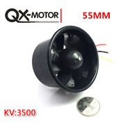 QX-MOTOR 55mm Ventilatore canalizzato QF2611 3500KV Outrunner Brushless Motor per EDF RC Jet Aircraft40A 2-3S