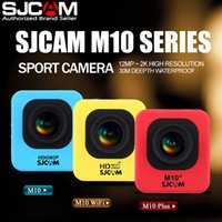 Wholesale resolution electronics online - SJCAM M10 Plus Wifi K Video Resolution Mini Action Camera Waterproof Camera P Sport DV Free DHL