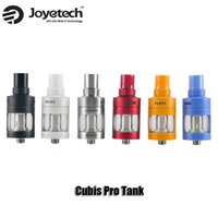 Wholesale Pro Tank Coil Heads - Authentic Joyetech Cubis Pro Atomizer 4ml Top Filling Adjustable Airflow Tank With LVC and QCS Coil Heads
