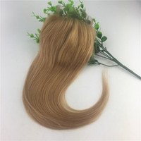 Wholesale Colorful Brazilian Hair - Large Stock Colorful 27 Straight Lace Closure Blonde Brazilian Virgin Human Hair 4x4 Frontal Closure Wholesale 8 Inch To 20 Inch