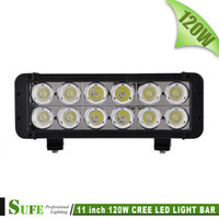 Wholesale Offroad Light Bars For Sale - SUFE NEW Sales 11'' 120W Dual Rows LED LIGHT BAR COMBO BEAM FOR TRUCK OFFROAD 4WD BOAT 4X4 WORK DRIVING LIGHTS 10W   LEDS