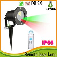 Wholesale laser christmas remote resale online - outdoor waterproof IP65 laser light projector christmas lights Stage Lights laser light show projector pattern have remote control