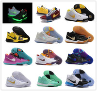 Wholesale Sporting Medals - 2017 Hot Sale Kyrie Irving 3 Basketball Shoes for High quality Kyrie 3s Medal Honor What the N7 Easter Sports Training Sneakers Size7-12