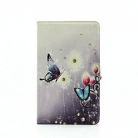 Wholesale T375 Case - For Samsung T377 Case Diamond Cover Stand Soft TPU Luxury Original Flip Leather Case For Samsung Galaxy Tab E 8.0 T375 T377