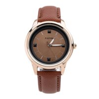 Wholesale Leather Case For Wrist Watches - Feifan Brand Women watches with box Free Cow leather bracelet for gift Leather waterproof case Office ladies wrist watch-FP122