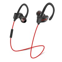 Wholesale Wireless Bass Guitar - Wireless Bluetooth 4.1 Stereo Earphone Fashion Sport Running Headphone Studio Guitar Music Headset + Microphone Deep Bass For Jogging Travel