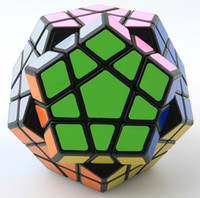 Wholesale Megaminx Cube - Shengshou Megaminx Magic Cubes Pentagon 12 Sides Gigaminx PVC Sticker Dodecahedron Toy Puzzle Twist