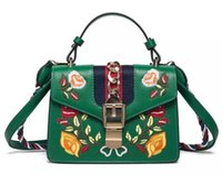 Wholesale Sequins Lace Fringe - bags handbags women famous brands Embroidered bag fringe crossbody shoulder strap bag luxury designer leather top-handle bags Luxury handbag