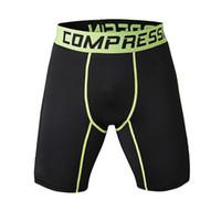 Lauf 2015 Top Qualität Gym Sportwear Männer Compression-shorts Schnell Absorption Schnell Trocknend Atmungsaktivem Laufhose Sport & Unterhaltung