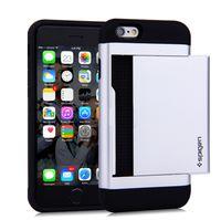 Wholesale Cs Fitting - SGP Card Slot wallet hard Shockproof cover Case for iPhone 6S 6 7 plus 6Plus 7Plus 5S SE 5 Samsung Galaxy S7 S7 Edge slim Armor CS Protector