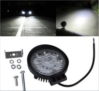 30 Degree spotlight boat - 2Pcs W LED Work Light V V IP67 Spotlight Fog Light Off Road ATV Tractor Train Bus Boat Floodlight x4 ATV UTV Work Light