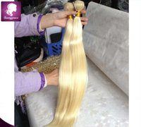 "Wholesale Cheap China Human Hair - Blonde #613 Malaysian Virgin Hair Straight 8""-30"" Cheap Human Hair Extensions sunny grace hair weft, made in china"