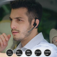 Wholesale Usb Wireless Switch - V8 Dual Headset Double Track Handsfree Earphone Support Chinese And English Switch Earset Connect Two Phones at The Same Time