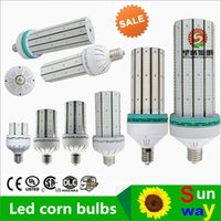 Wholesale Long Life Led Lights - 400 watts MHL replacement light 120W led corn bulb lamps warehouse lighting light high brightness long life 5 years warranty free shipping