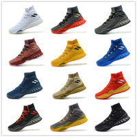 Wholesale Crazy Leather Shoes - Hot Sale!! Crazy Explosive Boost 2017 Andrew Wiggins Basketball Shoes for High quality Mens Sports Training Sneakers Size 7-12 Free Shipping