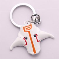 Wholesale Old Metal Keys - Wholesale- MOBA Game DOTA2 JUGGERNAUT MASK LOGO Defense of the Ancients Metal Pendant Keychains Key Ring Chain Toys with Gifts Package