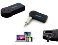 Wireless Music Receiver 3,5-mm-Streaming Auto A2DP drahtloser Bluetooth V3.0 AUX Audiomusik-Empfänger-Adapter mit Mikrofon für iPhone MP3