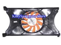 Wholesale power logic fans for sale - Group buy PLA08015S12HH V Black cover Video fan GTX560SE GTX560 Power Logic Graphics card Fan