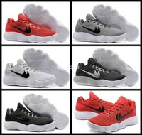 Hyperdunk 2017 Low EP Weave Knit Basketball Shoes para homens EUA BHM Black Silver Red Grey Hyperdunks Sports Sneakers Trainers Mens Shoe 7-12