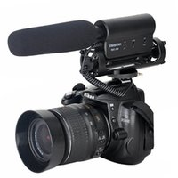 Wholesale Camcorder Microphone Wholesale - TAKSTAR SGC-598 PRO Shotgun DV Stereo Recording Interviews MIC Microphone for Canon Nikon Any DSLR Camera DV Video Camcorder