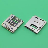 Atacado-2pcs / Lot New Original Para Blackberry Q5 R10 Sim Card Reader Titular slot soquete Tray