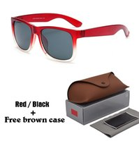 luneta soleil gafas de sol al por mayor-7 colores elegir gafas de sol para mujer para mujer diseñador de la marca gafas de sol gafas para hombres gafas lunette de soleil gafas de sol masculino con estuche