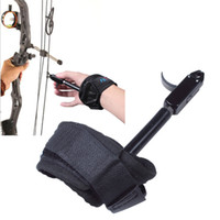 Wholesale bows for arrows resale online - Hot Sale Archery Caliper Release Compound Bows Caliper Wrist Release With Adjustable For Hunting Shooting For