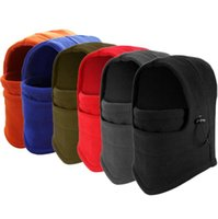 Wholesale ear warmer face mask for sale - 6 Color Warm Winter Hats Outdoor Windproof Ear Sub Multifunction Face Mask Men Riding Hat Hat Scarf Collars Thickening Cap