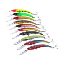 Wholesale 10 color cm g Hard Plastic Lures Fishing Hooks Fishhooks D Minnow Fishing Lure Hook Artificial Bait Pesca Tackle Accessories
