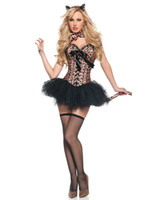Wholesale Carnival Uniforms Adults - catwoman fancy dress costumes MOONIGHT Adult Woman Halloween Carnival Costumes Sexy Catwoman Costume Cosplay Cat Fancy Dress