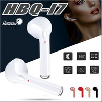 Wholesale Ear Phones Package - HBQ i7 Twins TWS Wireless Bluetooth Earphones For Iphone X Invisible Earbuds V4.2 Stereo Music Headset Phone Earpiece With Retail Package