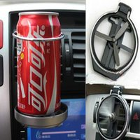 Wholesale Cup Holder Van - 2016 high quality Universal Folding Air Conditioning Inlet Auto Car Drink Holder Car Beverage Bottle Cup Car Frame for Truck Van Drink