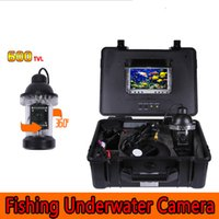 "Wholesale Sharp View Camera - 150ft 50m Underwater Fishing Video 600TVL CCD waterproof Camera finder 0-360° View rotative Diving camera 7.0"" TFT LCD Monitor 50m Cable"