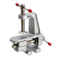 Wholesale Vise Tool - 3.5inch Aluminum Mini Small Hobby Clamp On Table Vise Tool Vice