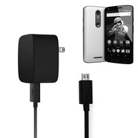 Wholesale Droid Cable - Original TurboPower Tavel Fast Charger Power Adapter + Mirco USB Cable For Motorola DROID TURBO2 MOTO X
