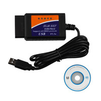 ELM327 USB OBD2 Outil de diagnostic de voiture automatique ELM 327 V 1.5 Interface USB OBDII Scanner CAN-BUS vente chaude