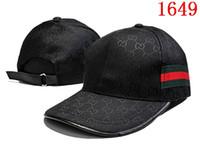 Wholesale Luxury Hats For Women - New design 100% Cotton Luxury brand Caps Embroidery hats for men Fashion snapback baseball cap women casual visor gorras bone casquette hat