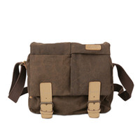Wholesale camera bag pack - Professional Camera Shoulder Bags Digital Photo Video Canvas Soft Sling Bag Pack DSLR Travel Case for Canon Nikon Sony
