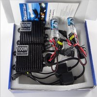 Wholesale H4 Hid Light Set - 1 Set AC 12V 100W HID Ballast with Bulbs H1 H3 H7 H4-2 9005 9006 H8 H9 H11 Conversion Xenon KIT Headlight AUTO Lamp Car Light Source
