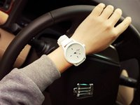 Wholesale Reloj Silicone - Hot Unisex Fashion Brand Watch Lovers Casual Silicone Sport Watches Men reloj pulsera mujer Casual Wristwatches