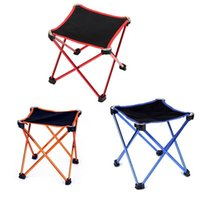 Wholesale Chair Design Wholesale - 25*25*28Cm Mini Fishing Chair Folded Seat Small Size Slack Chair Light Weight Exquisite Design Portable Lounge Chair Easy To Store 3 Colors
