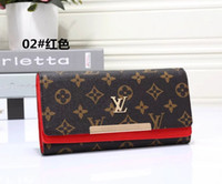 Wholesale Michael Wallets - Top Europe 2017-03 Synthetic Leather High Quality women Wallet luxury brand designer Michael Wallets woman Clutch purse imitation brands