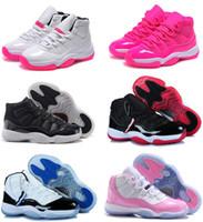 оригинальные баскетбольные туфли для продажи оптовых-72-10 Оригинал 11 11s женщины баскетбольные кроссовки онлайн дешевые продажи лучшее качество реальные кроссовки США размер 5.5-8.5 бесплатная доставка с коробкой