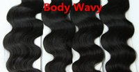 Wholesale Wavy Ombre I Tip Extensions - 5A Grade Body Wavy 0.5g*200s 10''-28'' Black Brown Blonde Mixed Ombre Colors 100% Indian Remy Human Hair Extensions Stick I Tip
