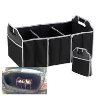 iç araç poşetleri toptan satış-Katlanabilir Araba Organizatör Boot Sayfalar Gıda Saklama Torbaları Çanta Case Kutusu gövde organizatör Otomobil İstifleme Toplama Iç Aksesuarları Katlanabilir