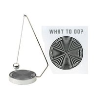 Wholesale Desk Novelty Gifts - Wholesale- New Novelty Magnetic Decision Maker Desk Accessories Office Supplies Gift Decor