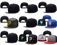 Wholesale Cotton Ball Wholesale - Hot Selling Men's Women's Basketball Snapback Baseball Snapbacks All Teams Football Hats Man Sports Hat Flat Hip Hop Caps Thousands Styles