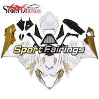 Wholesale sportbike bodywork for sale - Group buy Injection Fairings Fit Suzuki GSXR1000 GSX R1000 K5 Sportbike ABS Motorcycle Fairing Kit Bodywork Corona Extra White Gold